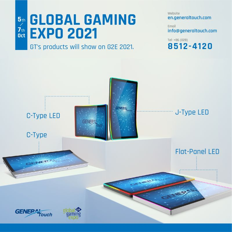 GT's Products Will Show on G2E 2021