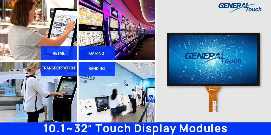 GT optical bonding touch display modules BBL-8 Series